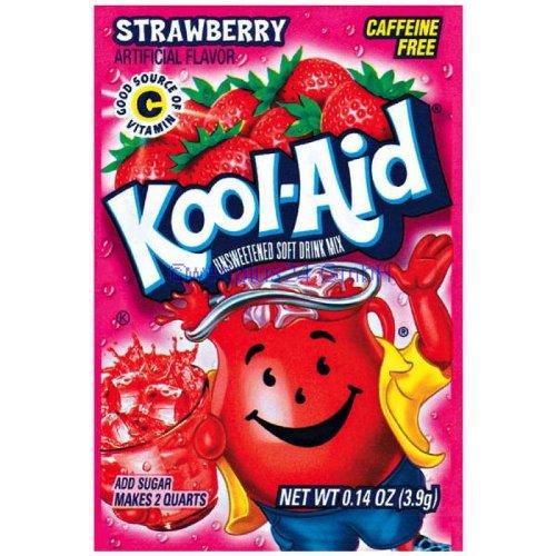 Kool-Aid Strawberry 0.14OZ (3.9g)