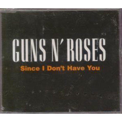 SINCE I DON'T HAVE YOU CD UK GEFFEN 1994