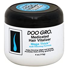 Doo Gro Medicated Hair Vitalizer, Mega Thick Anti Thinning Formula, 4 oz.