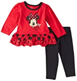 Disney Baby-Girls Infant 2 Piece Minnie Mouse Legging Set