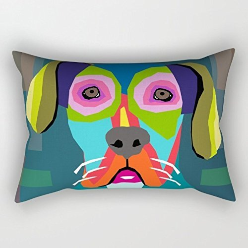 Dogs Pillow Shams 16 X 24 Inches / 40 By 60 Cm Best Choice For Kitchen,teens,her,teens Boys,play Room,bedroom With 2 Sides (Teen Bedroom Accesories compare prices)