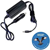 HQRP Car Charger / DC Power Adapter compatible with Acer Aspire M5-481PT-6644 / M5-581T-6405 / M5-481PT-6488 / TimelineU M5-581TG-6666 Ultrabook Laptop / Notebook plus HQRP Coaster