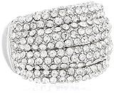 Crystal Stretch Adjustable Ring