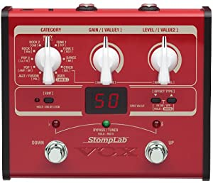 VOX SL1B 1B Amplifier Multi Effect Bass Stomplab Pedal
