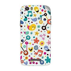 Garmor Designer Mobile Skin Sticker For XOLO Q700S PLUS - Mobile Sticker