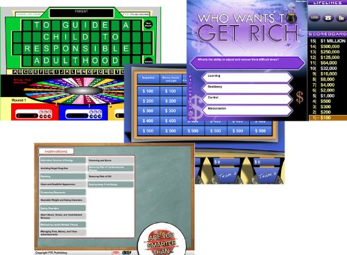 Health Tv Game Show On Cd