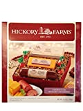 Hickory Farms Holiday Gift Set-Farmhouse Hickory Favorites Summer Sausage, Golden Toasted Crackers, and Smooth and Sharp Cheese Set! Net wt. 10.9 oz