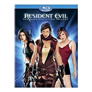 Resident Evil – The High-Definition Trilogy (Resident Evil/ Resident Evil: Apocalypse/ Resident Evil: Extinction) [Blu-ray]