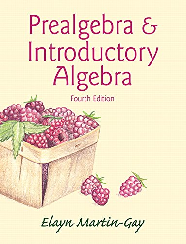 Prealgebra & Introductory Algebra (Hardcover) (4th Edition)