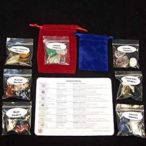 21 Chakra Healer Special Set - Discount Assortment - 21pc. Bag
