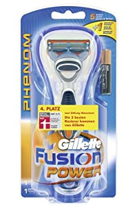 Gillette Fusion Phenom Power Razor