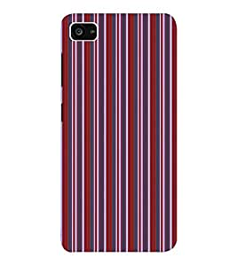 EPICCASE velvet stripes Mobile Back Case Cover For Lenovo ZUK Z2 (Designer Case)