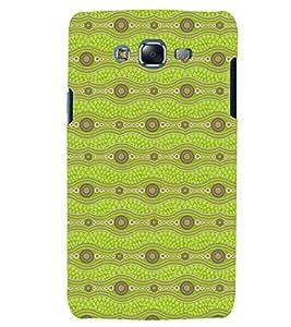 Printvisa Premium Back Cover Light Green Zig Zag Pattern Design For Samsung Galaxy J7::Samsung Galaxy J7 J700F