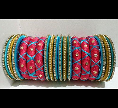 pink-and-blue-silk-thread-bangles-set