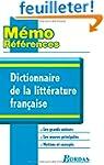 Dictionnaire de la litt�rature fran�aise
