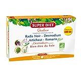 Super Diet Organic Quatuor Liver Well-Being 20 Phials from Super Diet