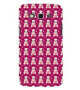EPICCASE lovely bear Mobile Back Case Cover For Samsung Galaxy Grand (Designer Case)