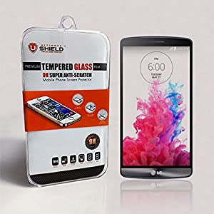 Ultimate Shield Premium Tempered Glass Screen Protector for LG G3