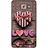 PrintVisa Designer Back Case Cover For Samsung Galaxy On Max (Heart Flowers Lover Cute Baby )