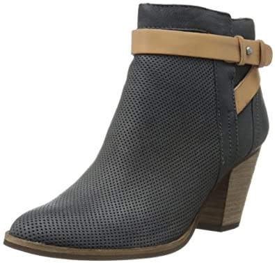 Dolce Vita Women's Yuri Boot,Black Nubuck,6 M US