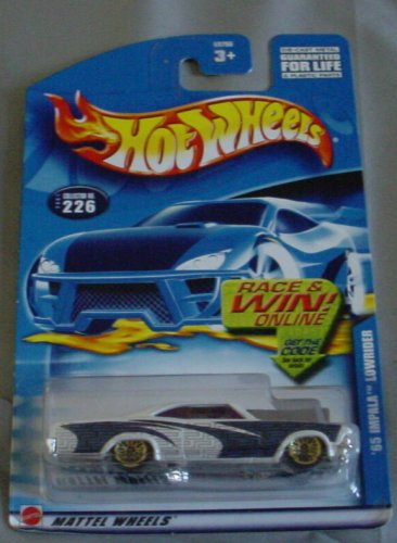 Hot Wheels 2001 '65 Impala Lowrider WHITE #226