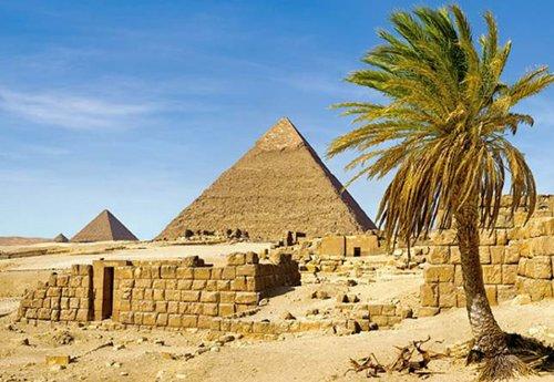 PUZZLE-1500-TEILE-PYRAMIDEN-in-GIZA-GYPTEN-WSTE