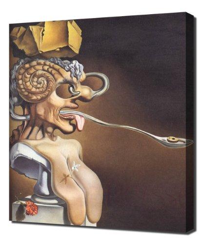 Salvador Dali - portrait Picasso