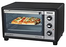 Inalsa Kwik Bake 24sfr 1500-Watt 24-Litre OTG with Motorized Rotisserie (Black)