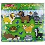 Melissa & Doug 3724 Pets Chunky Puzzle