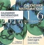 Calendrier math�matique 2016, un d�fi...