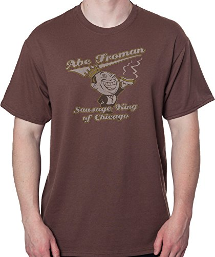 Men's Ferris Bueller's Day Off Abe Froman T-shirt - S to 5XL