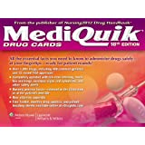 MediQuik Drug Cards by Lippincott