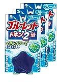 【まとめ買い】ブルーレットドボン2倍 トイレタンク洗浄剤 ブルーミント 120g×3個