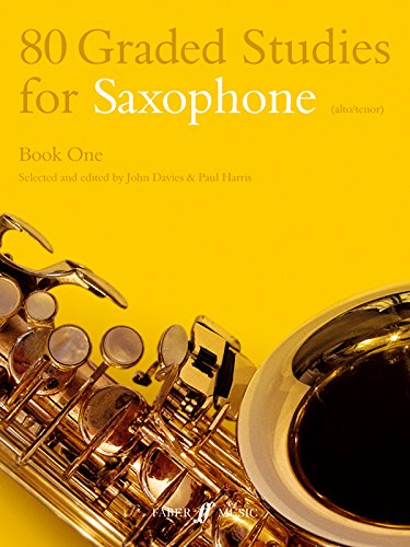 80 Graded Studies for Saxophone: Bk. 1 (Faber Edition)
