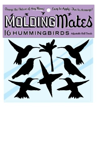 Molding Mates Hummingbirds 16 Molding Mates Home Decor Peel And Stick Vinyl Wall Decal Stickers