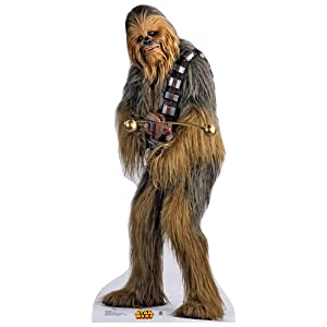 Life Size Star Wars Chewbacca Cardboard Cutout