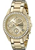Fossil Women's Quartz Watch Ladies Dress ES2683 with Metal Strap