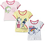 #5: Donuts Baby Girls' T-Shirt (Pack of 3) (272518284_Assorted_12M)