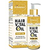 St.Botanica Hair Vital Oil (With Almond, Jojoba, Rosemary, Olive, Castor, Tea Tree Oil) 100ml