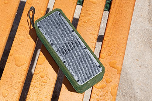Фото Avier B3 Rugged Waterproof Wireless Bluetooth Speaker. Shock-Resistant and Splash-Proof Design. Bluetooth 4.0 Technology avier xe3 wireless bluetooth 4 0 sport earbuds for running exercise gym workouts sweat proof with built in microphone playback controls and 6 hour battery