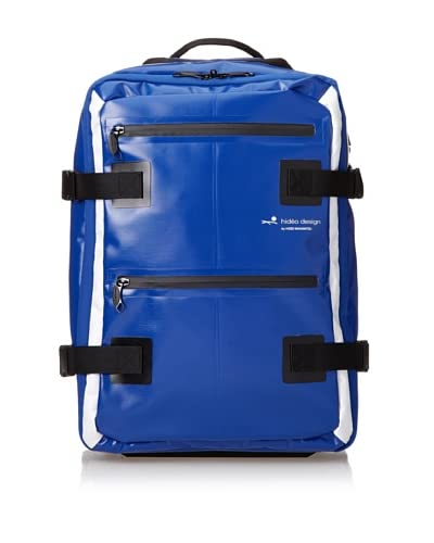 Hideo Wakamatsu Unisex Tarpaulin 2-way Carry-On, Blue, One Size