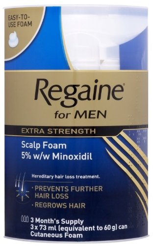 Extra Strength by Regaine Foam Triple Pack (Three Month Supply)