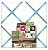 Board Dudes 14 x 14 Inches Fabric Bulletin Board, Color May Vary (13963)