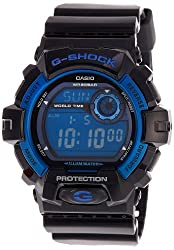 Casio G-Shock Digital Blue Dial Mens Watch - G-8900A-1DR (G354)