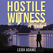 Hostile Witness: The Kate Ford Mysteries, Book 1 Audiobook by Leigh Adams Narrated by Suzanne Elise Freeman