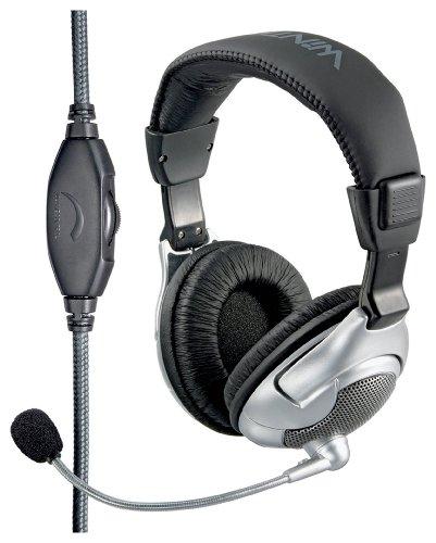 Wintech WH-2688 Kopfhörer silber/schwarz