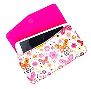 DooDa PU Leather Case Cover With Magnetic Closure For Micromax Canvas 4 A210