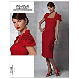 Vogue Patterns V1162 Size AA 6-8-10-12 Misses' Dress