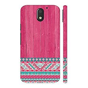 Enthopia Designer Hardshell Case Woody Aztec Thirteen Back Cover for Motorola Moto E3 Power
