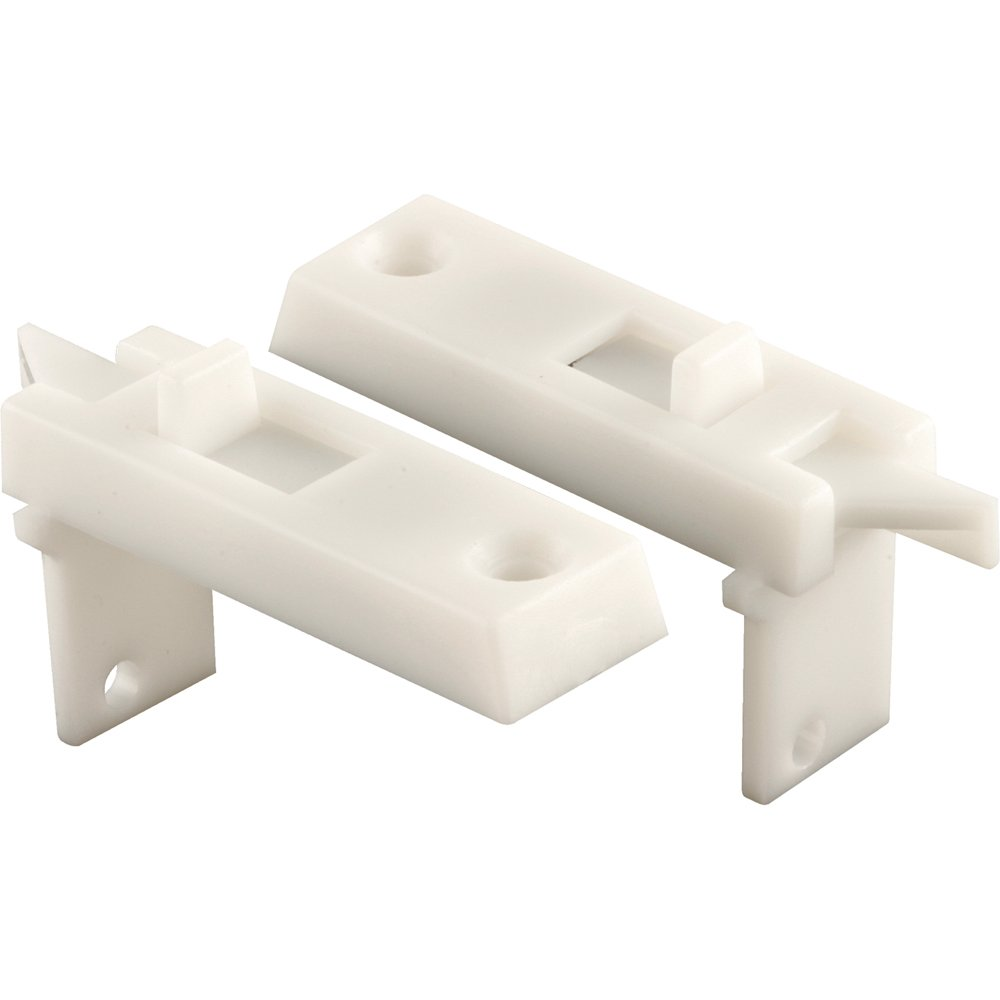 PRIME-LINE PRODUCTS CO. Slide-Co 172434-W Spring Loaded Sliding Window Tilt Latch, White, 1-Pair